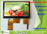 Gute Qualität TFT lcd-display & Multi Note kapazitive Lcd-Anzeige, 4,3 Zoll 480 * 272 Touch Screen Lcd-Platte disponibles à la vente